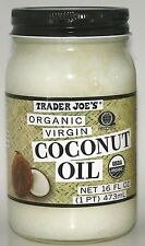 Trader Joe's Organic Coconut Oil & Products (3 options) FREE SHIPPING