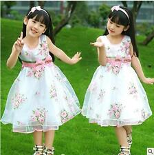 Popular Series Rose Wave Pageant Girls Dress Fashion Wedding Party Kids Dressing
