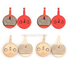 4 Pairs NVP-06 Bike Bicycle Cycling Resin/Metal Disc Brake Pads for BB5 NV5 hv2n