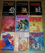 RuneQuest RPG Adventure Game Book / Avalon Hill Games Workshop Chaosium * Select
