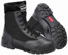 MAGNUM ORIGINAL SIDE ZIP CLASSIC UNIFORM BOOTS SIZE'S 5 TO 14
