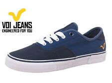 Voi Jeans Canvas Mens Shoes,  Boys Shoes,Trainers, Plimsolls, Pumps Blue Navy