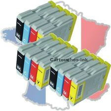 12 Cartouches-ink encre compatible imprimante Brother LC970 LC1000 DCP153C