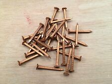 """100grms Copper Boat Nails Countersunk Head Sizes 1/2"""" to 2 1/4"""" MULTIPLE LISTING"""