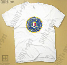 FBI Federal Bureau of Investigation Seal United States usa T Shirt Tshirt 544