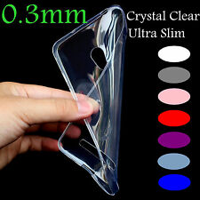 Ultra thin 0.3mm Crystal Clear Soft TPU Case Cover For ASUS Zenfone 5 Z5