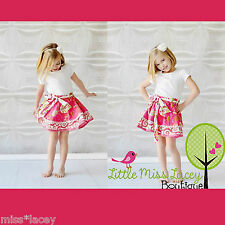 Jelly The Pug Girls Pink Twirly Skirt NWT Sizes 1,2,3 & 4 HOT PRICE!!! SALE!!!