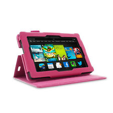 rooCASE Dual View Folio Case Cover Stand for Amazon Kindle Fire HD 7 2013