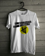 Five Seconds Of Summer T Shirt Unisex Adult 5 SOS Shirt Ashton Irwin 5sos
