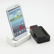 USB Data Sync Desktop Dock Station Charger Cradle for Samsung Galaxy S3 3 i9300