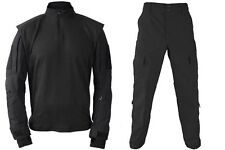 Tactical Operations Black Combat Shirt Size X-Large w Tac U Pants Propper