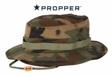Boonie Hat US Military Woodland Camo 100% Cotton Rip Stop made by Propper F5501