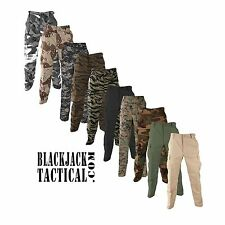 BDU Camo Tactical Pants Genuine Gear 60/40 Ripstop Propper