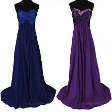 New Sexy Formal Bridesmaid Gown Prom Ball Cocktail Evening Party Long Maxi Dress