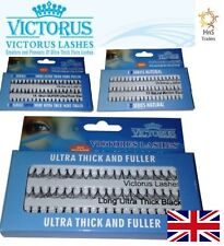 VICTORUS INDIVIDUAL FALSE EYELASHES LASH ALL STYLES NATURAL SUPER ULTRA THICK