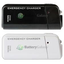 USB Portable 2 AA Battery Charger for Apple iPhone 3 3G 3GS 4 4G 4S 5 5G 5S 5C 6