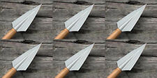 Eclipse Traditional 2 Blade Glue On Broadheads - NEW 6 pack 125 gr or 145 grain