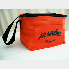 MLB Baseball Florida Miami Marlins Sports Cooler Lunch Bag Beer Kooler 6 Pack