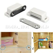 1/2/4/10 Cupboard Door Cabinet Magnetic Catch Self-Aligning Holder Latch Stopper