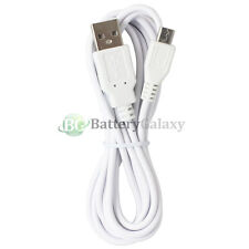 1 2 3 4 5 10 Lot 6FT White USB Cable for Samsung Galaxy S 4 5 S4 S5 Mini Note 2