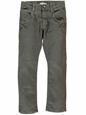 NAME IT tolle Slim Fit Denim Jeans Hose Matt in grau Gr.92-164 NEU