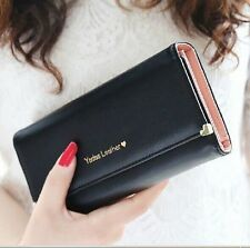2014 new fashion lady women purse long wallet bags PU handbags card holder gift