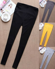 Casual Korean Style Womens Maternity Leggings Trousers Prop Belly Pants New