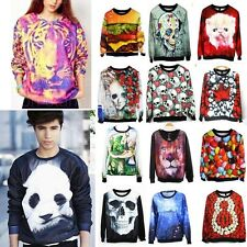 Women Adventure Time Print Cute Sweatshirt Loose Spring Autumn Pullovers @MD9112