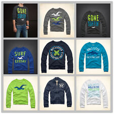 NWT HOLLISTER By Abercrombie Mens Sweatshirt new AF A&F