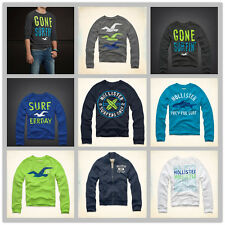 NWT HOLLISTER By Abercrombie Mens Sweatshirt new AF A&F HCO