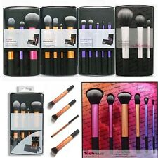 Real Techniques Cosmetic Starter Kit Powder Foundation Makeup Brushes Set Tool