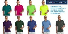 starts @ $9.99 Port Authority Silk Touch Dri-Fit Polo Shirt S-4XL CASUAL GOLF