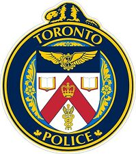 Toronto Police Department Decals / Stickers MV