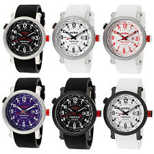 Red Line Mens Compressor World Time Watch