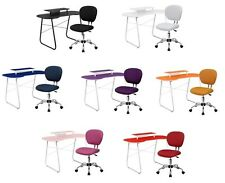 Computer Desk and Office Chair Set Teen Dorm Colorful Kids Teen NEW 7 COLORS