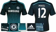 *14 / 15 - ADIDAS ; CHELSEA 3rd KIT SHIRT SS / MIKEL 12 = SIZE*