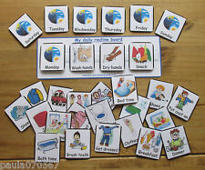 Communication Board & Pec cards~ My day to day Routine~AUTISM~SENS~Male~Female