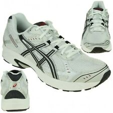 Asics Patriot 4 Trainers Shoes Jogging White Black Running