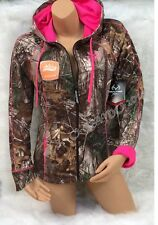 NEW STYLE 2014!!! REALTREE Women's Camo with PINK Accents Jacket Hoodie S M L XL