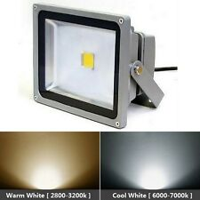 50W LED SMD Cool Warm or RGB Flood light Outdoor Waterproof IP65 Landscape Lamp