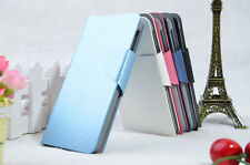 Silk Pattern PU Leather Flip Wallet  Stand Case Cover For Lenovo A269i