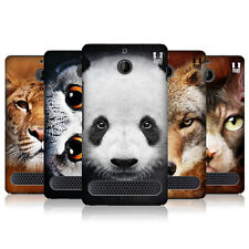 HEAD CASE DESIGNS ANIMAL FACES CASE COVER FOR SONY XPERIA E1 DUAL