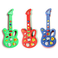 Hot Electronic Guitar Toy Nursery Rhyme Music Toy For Child Infant Boys Girls