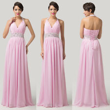 CHEAP!!! Pleated SEXY Formal Prom Party Ceremony Bridesmaid Long Evening DRESSES