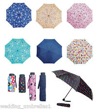 SHELTA Xanadu Micro Mini and Mini Maxi COMPACT FOLDING UMBRELLA various patterns