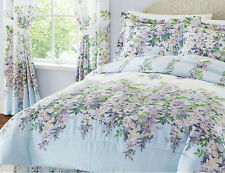 Comforter Set Wisteria Floral Reversible Comforter Set w/Bedskirt Shams Bedroom