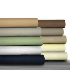 Egyptian Cotton Percale 475 Thread Count Deep Pocket Sheet Set and Optional Pill