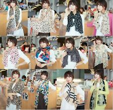 Women's Chiffon Soft Long Scarf Wraps Scarves Shawl Stole Leopard 53 style