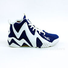 "Reebok Kamikaze ii Mid ""Letter of Intent"" (Team Dark Royal/White) Shoes V61114"