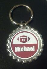 Personalized  Baseball bottle cap Necklace or Key chain YOU pick
